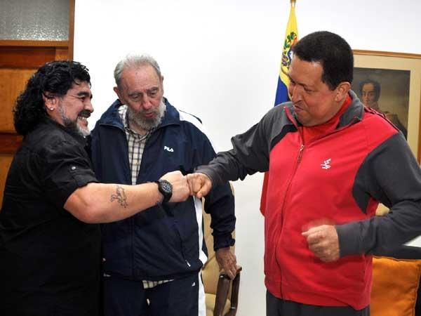 Maradona reza por la s...